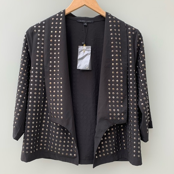 Blaque Label Nasty Gal Studded Waterfall Jacket